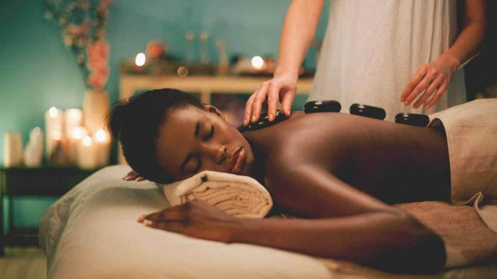 hot stone massage Cheltenham